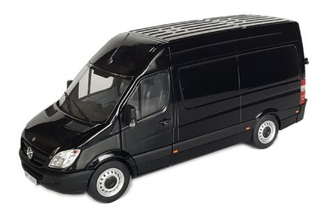 MarGe Mercedes-Benz Sprinter Black 1:32